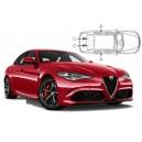 Sonnenschutz für Alfa Romeo Giulia 4 Türen 2015-