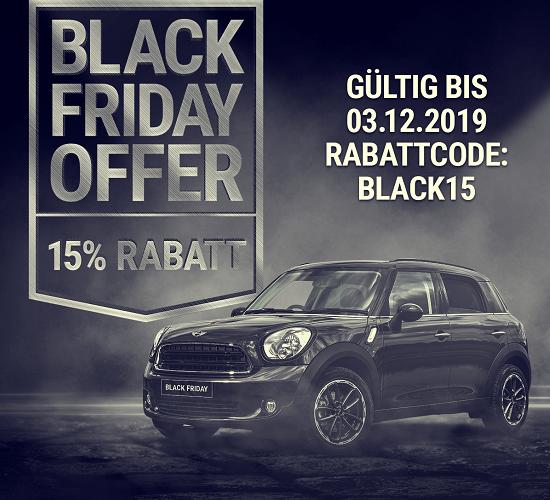 BLACK FRIDAY 15% RABATT bei www.auto-sonnenschutz.ch